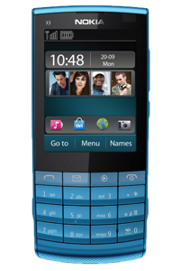Unlock Nokia X3 02 Touch Type